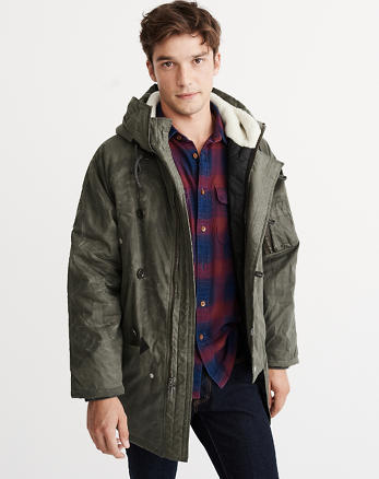 ANF Woolrich Flash Point Parka