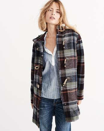 ANF Woolrich Century Wool Duffle Coat