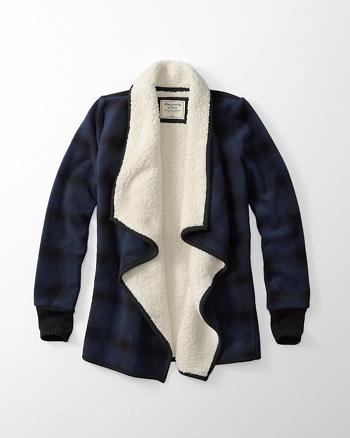 ANF Sherpa Fleece Jacket