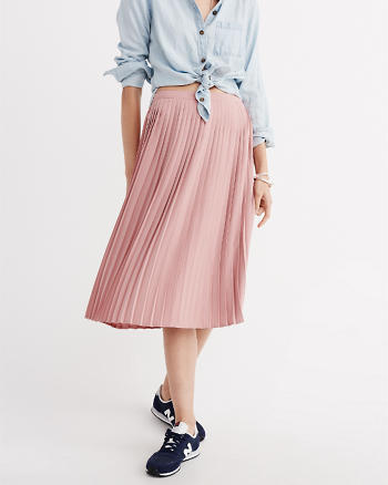 ANF Pleated Midi Skirt