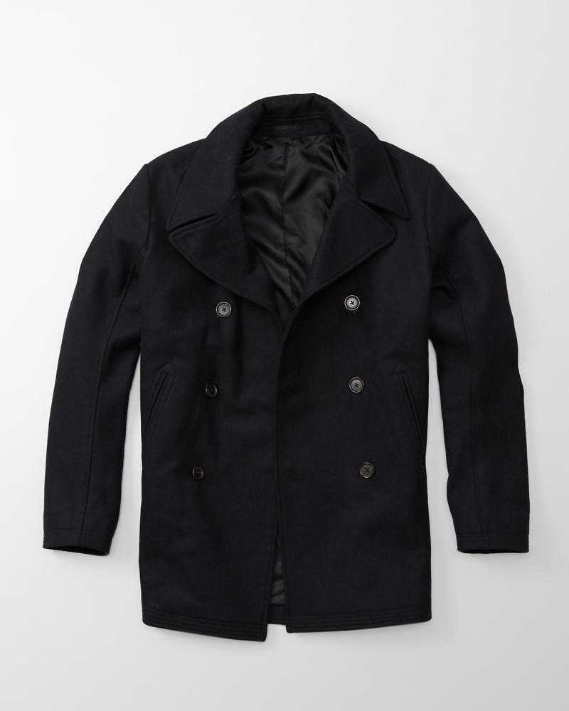 Mens Wool Peacoat | Mens Clearance | Abercrombie.com