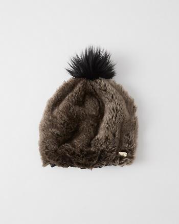 ANF Faux Fur Beanie