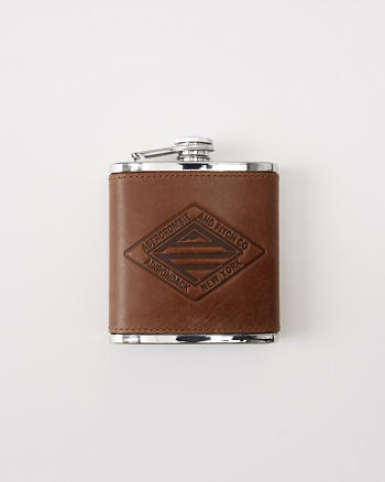 ANF Leather Flask