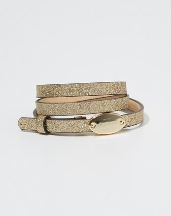 ANF Glitter Belt