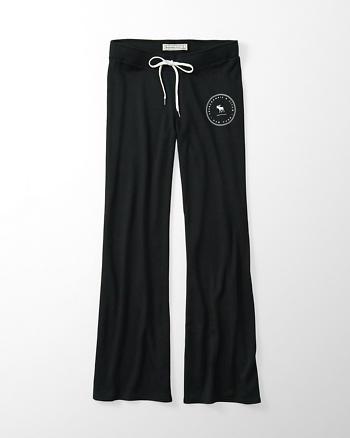 ANF Logo Wide Leg Sweatpants