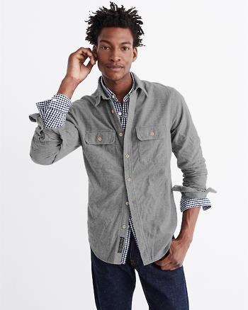 ANF Chamois Woven Shirt