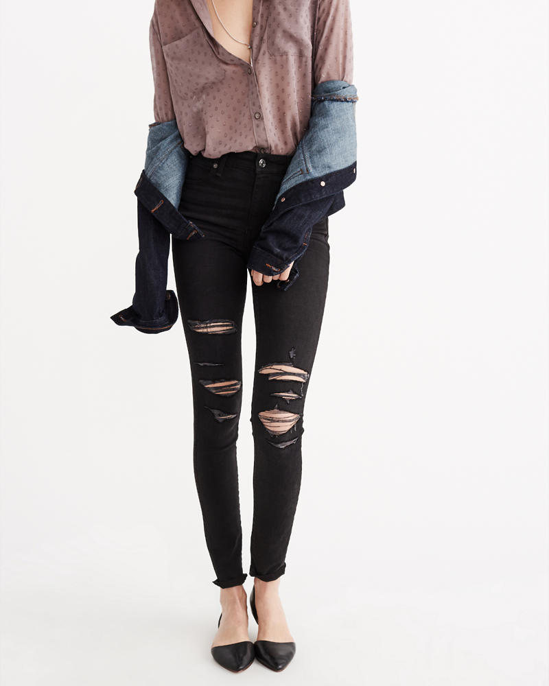 Womens Super Skinny Jeans | Abercrombie & Fitch