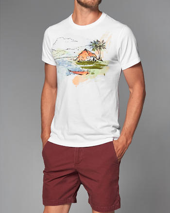 ANF Vacation Graphic Tee