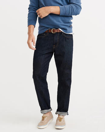 ANF Relaxed Tapered Jeans