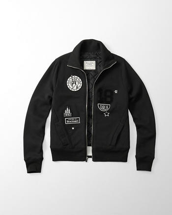 ANF Patch Bomber Jacket