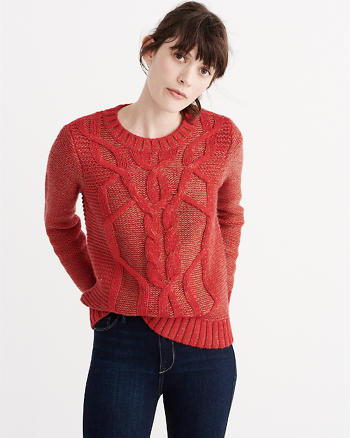 ANF Cable Knit Sweater