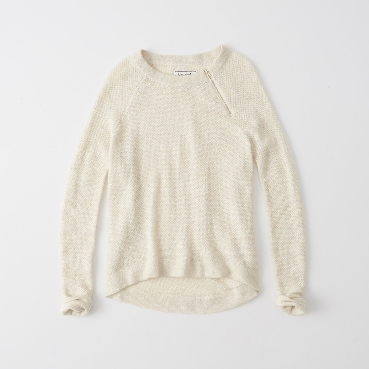 Zip Crew Sweater