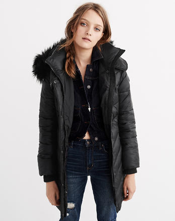 ANF Quilted Parka