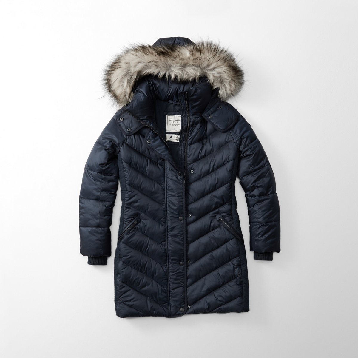 Quilted Parka Puffer Jacket