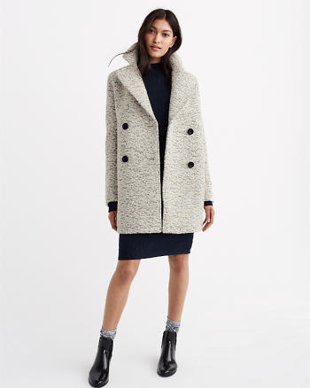 ANF Wool Peacoat