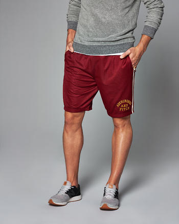 ANF Logo Athletic Shorts
