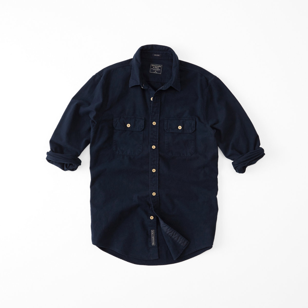 Relaxed Fit Chamois Shirt