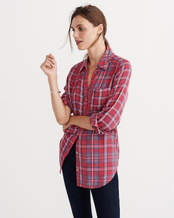 ANF Signature Duofold Shirt