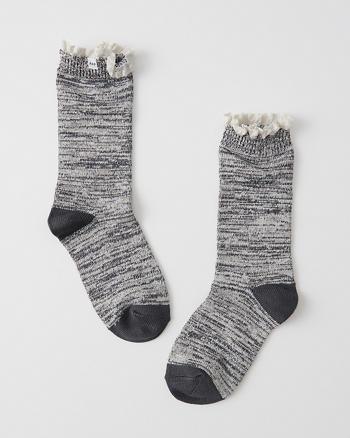 ANF Marled Socks