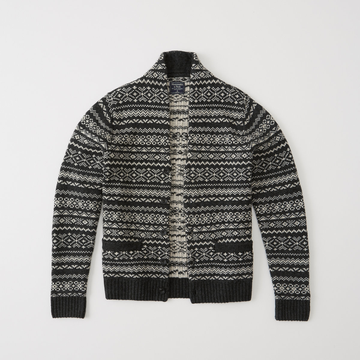 Patterned Shawl Cardigan