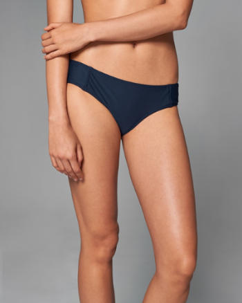 Womens Wide-Side Cheeky Swim Bottom