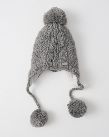 ANF Knit Trapper Hat