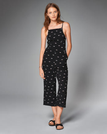 ANF Cropped Jumpsuit