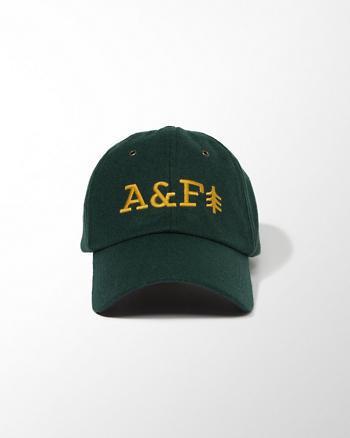 ANF Wool-Blend Baseball Cap