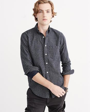 ANF Printed Woven Shirt