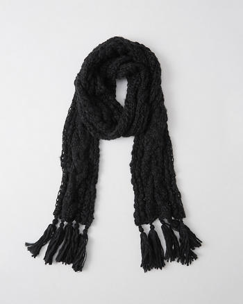 ANF Patterned Knit Scarf