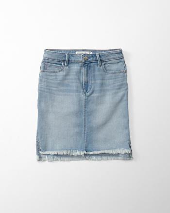 ANF Indigo Denim Pencil Skirt