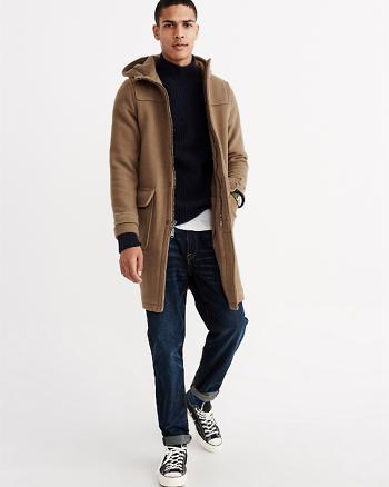 ANF Camel Duffle Coat