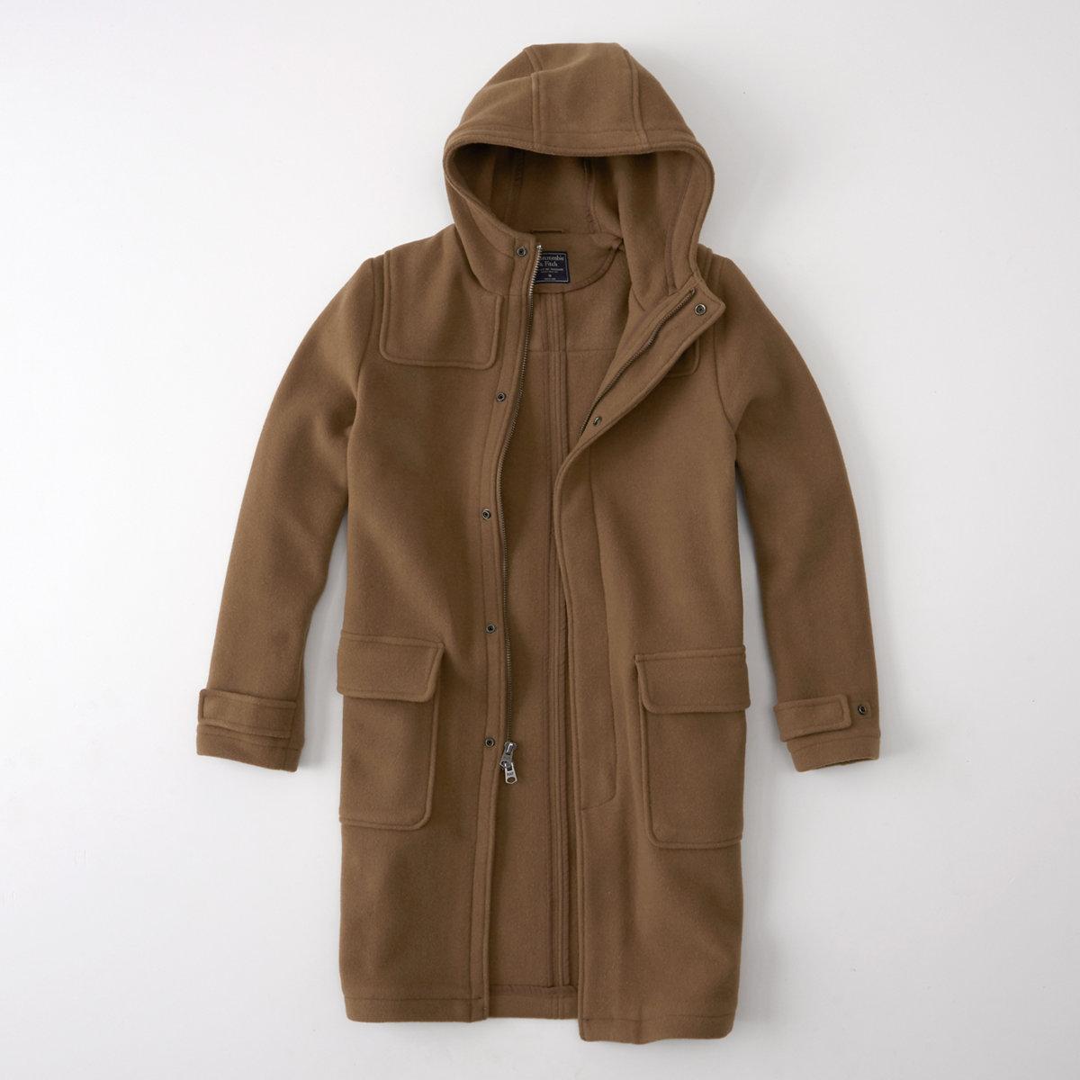 Camel Duffle Coat