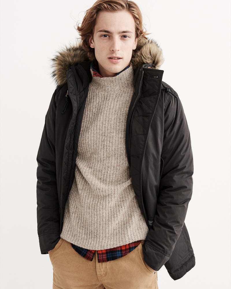 Mens Outerwear & Jackets | Abercrombie & Fitch
