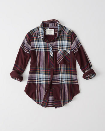ANF Signature Flannel Shirt