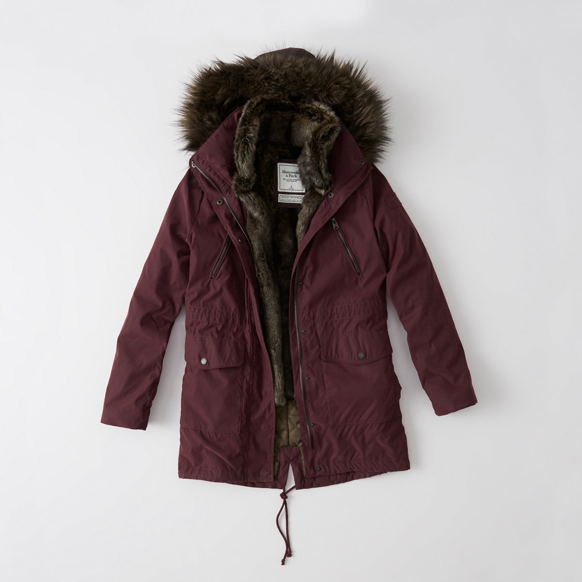 Three-In-One Faux Fur Lined Parka