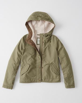 ANF Sherpa Anorak Jacket