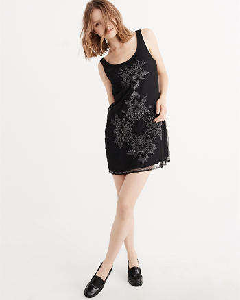 ANF Embroidered Party Dress