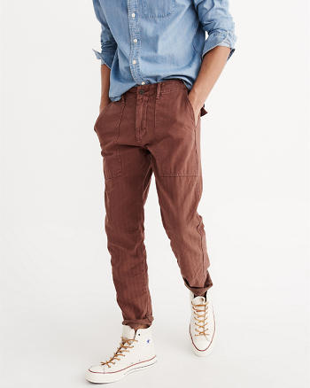 ANF Herringbone Chino Pants
