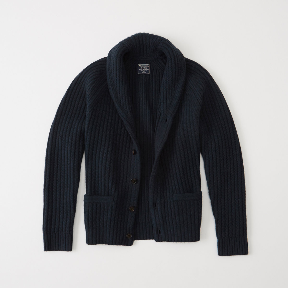 Wool Shawl Cardigan