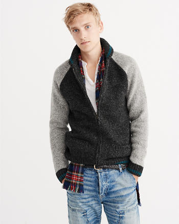 ANF Zipped Cardigan