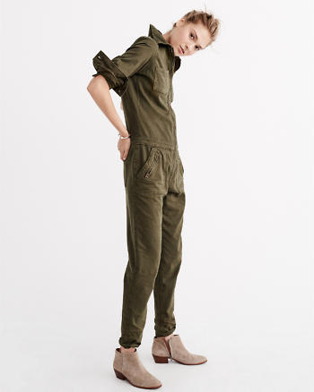 ANF Twill Jumpsuit