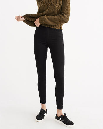 ANF High Rise Ultra Skinny Jeans