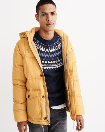 ANF Down Puffer Jacket