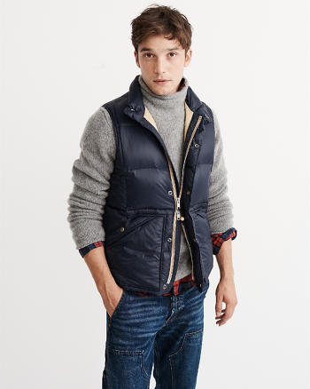 ANF Down Puffer Vest