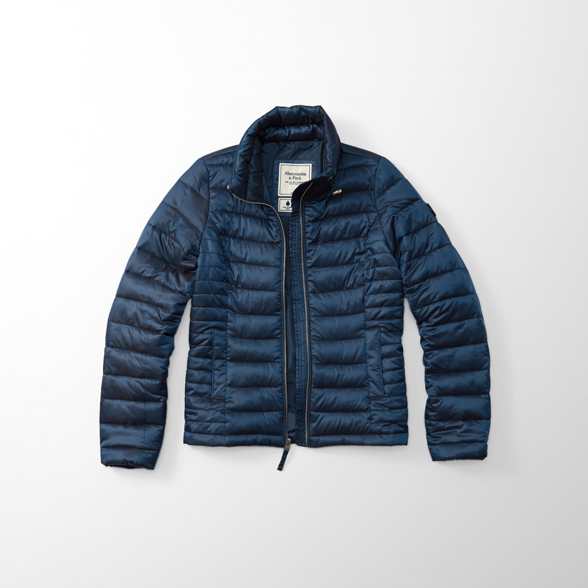 Shiny Quilted Puffer Jacket