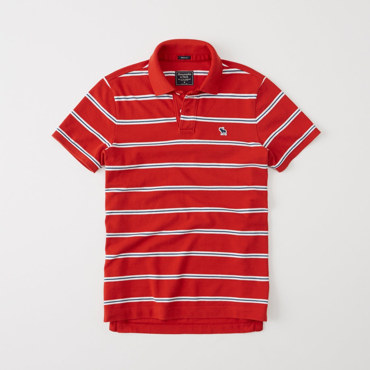 Striped Icon Polo
