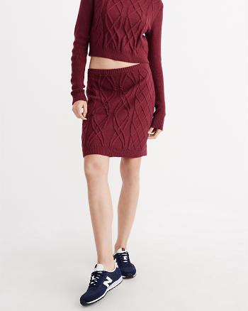 ANF Sweater Bodycon Skirt