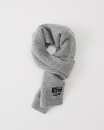 ANF Knit Cashmere Scarf