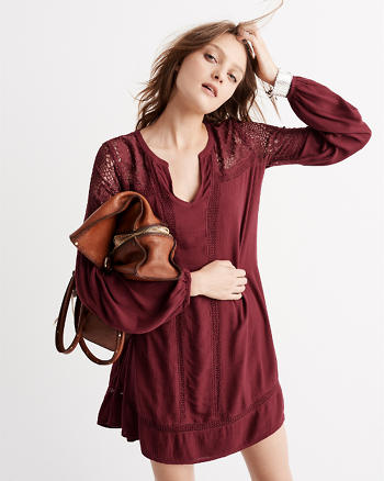 ANF Romantic Shirtdress
